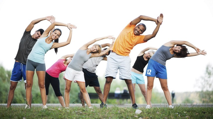 Rèn luyện thân thể thường xuyên để cải thiện sức đề kháng