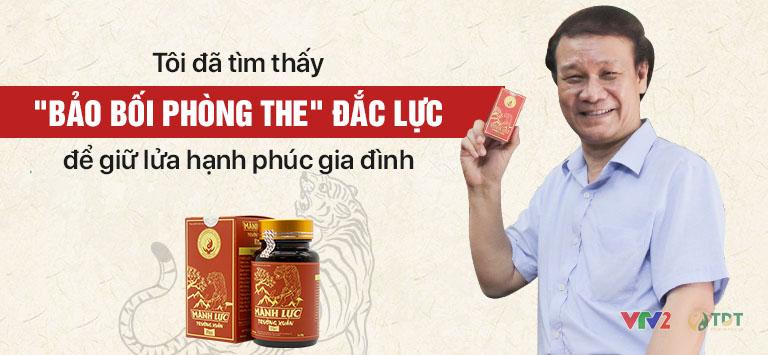 Bảo bối phòng the giúp nghệ sĩ Nguyễn Hải tìm lại phong độ