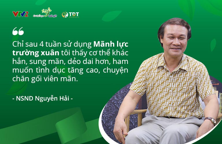 Nghệ sĩ Nguyễn Hải chia sẻ về Mãnh lực trường xuân