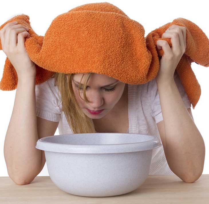 Cách xông hơi giúp điều trị viêm mũi dị ứng an toàn