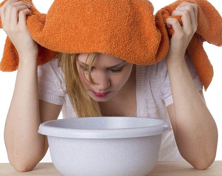Xông hơi với nước tỏi giúp giảm triệu chứng của viêm mũi dị ứng