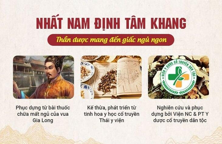 Bài thuốc được điều chế theo phương thuốc cổ của Thái Y Viện triều Nguyễn