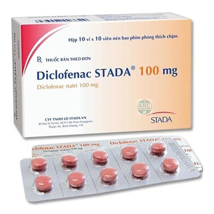 Thuốc Diclofenac có công dụng giảm đau kháng viêm