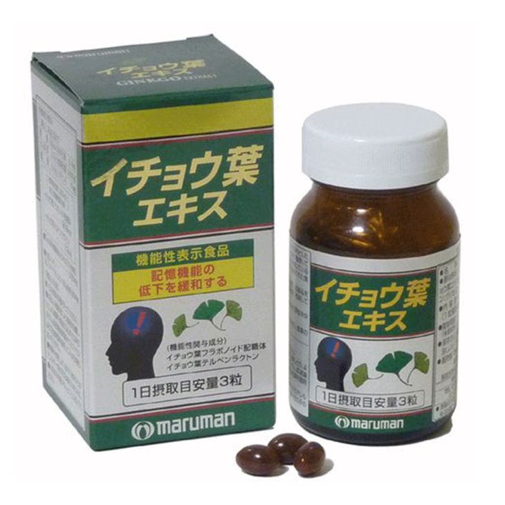 Ginkgo Biloba Maruman có công dụng tốt trong việc điều trị bệnh tiền đình