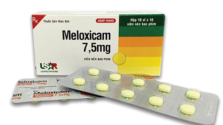 Meloxicam thuộc nhóm thuốc giảm đau, kháng viêm không chứa steroid (NSAID)