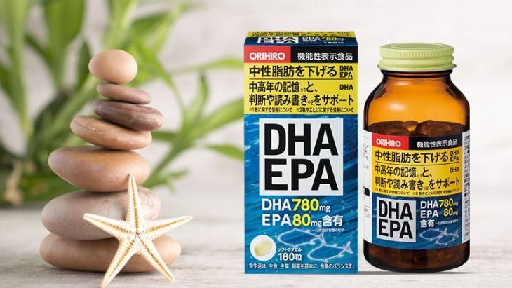 Orihiro DHA EPA là sản phẩm cải thiện trí nhớ