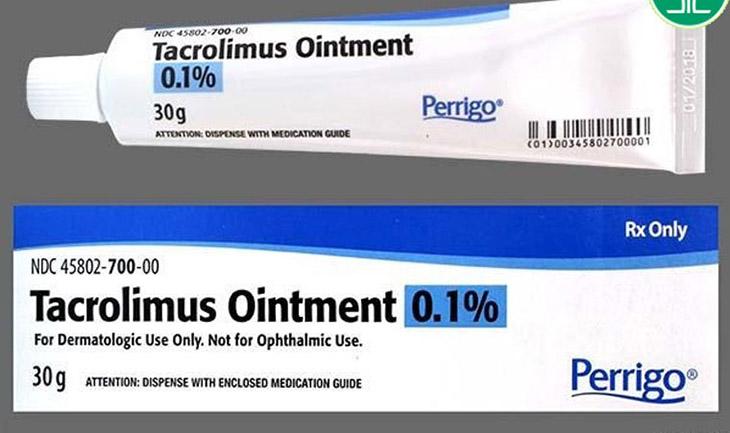 Tacrolimus được dùng để điều trị các bệnh về da