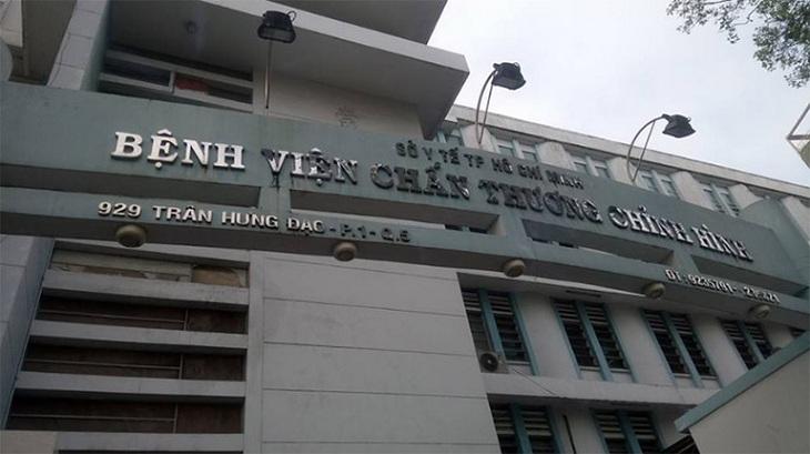 Người bệnh muốn gặp TS. BS Trần Quang Hiển có thể tìm tới bệnh viện chấn thương chỉnh hình TP HCM