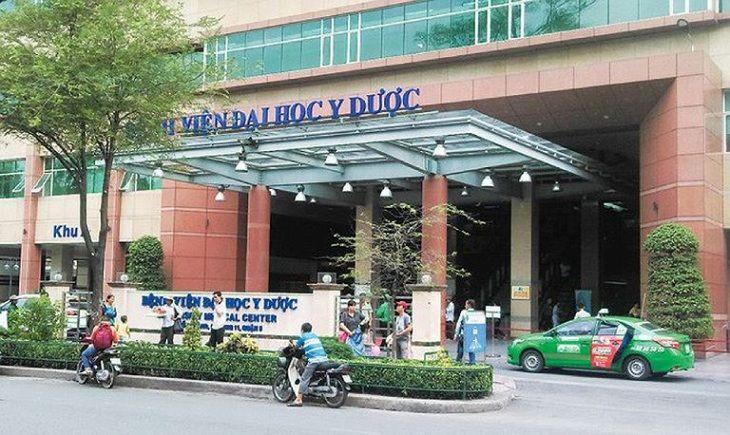Bệnh viện Đại học Y dược 1 là địa chỉ công tác của PGS.TS Đỗ Phước Hùng