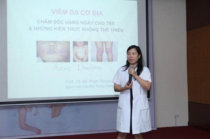 PGS. TS. Bác sĩ Phạm Thị Lan - người đã có 27 năm kinh nghiệm