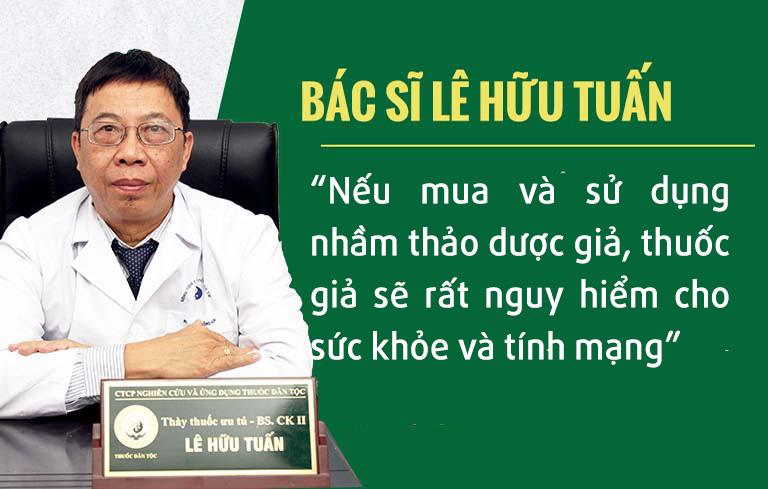 Cảnh báo của bác sĩ Lê Hữu Tuấn