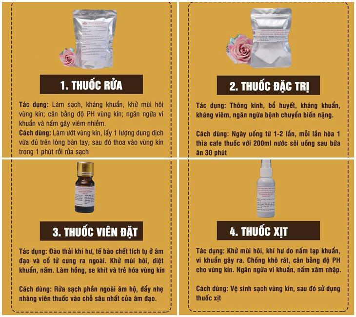 Cách dùng bài thuốc Phụ Khang Đỗ Minh