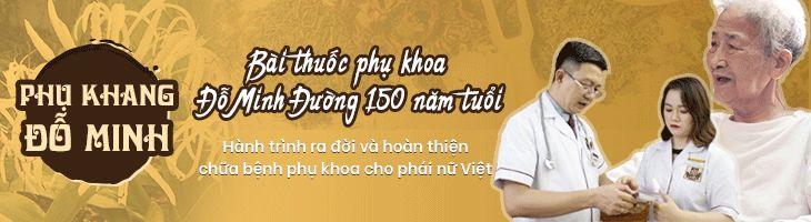 Banner bài thuốc chữa bệnh phụ khoa Đỗ Minh Đường