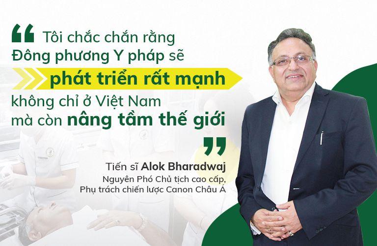 Tiến sĩ Alok Bharadwaj - Nguyên Phó Chủ tịch cao cấp, Phụ trách chiến lược Canon Châu Á
