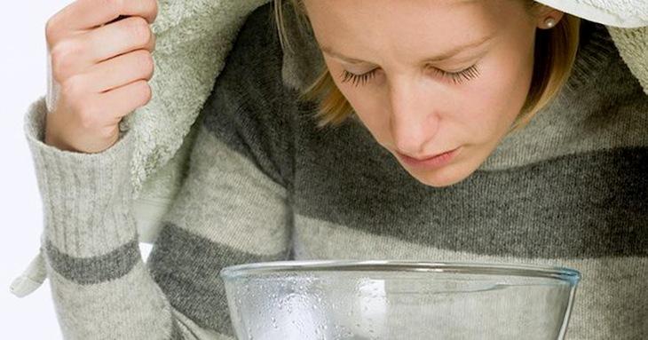 Xông hơi là cách chữa xoang đơn giản có thể thực hiện tại nhà