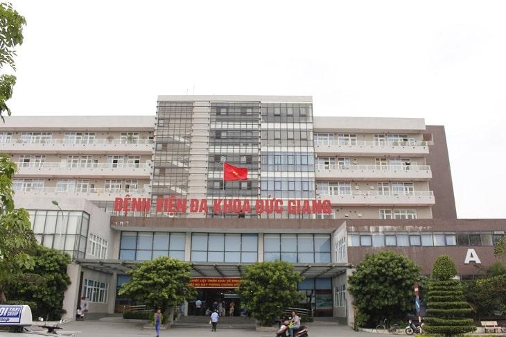 Bệnh viện Đa khoa Đức Giang do Sở Y tế Hà Nội quản lý