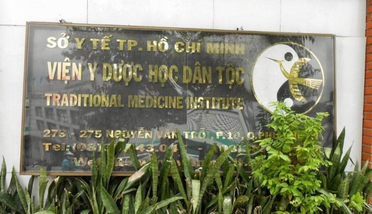 Chữa bệnh trĩ ở đâu tốt nhất? Viện Y dược học Dân tộc