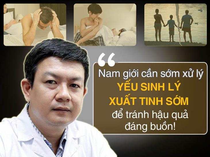 Lương y Đỗ Minh Tuấn nhận định về yếu sinh lý