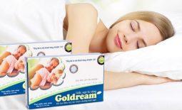 Tổng quan về thuốc trị mất ngủ Goldream