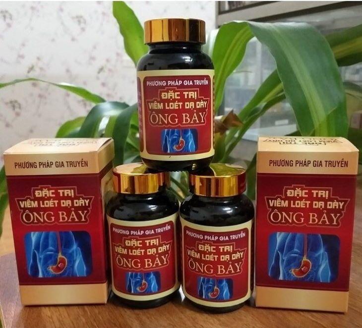 Thuốc Ông Bảy hiệu quả nhất trong điều trị bệnh dạ dày ở giai đoạn đầu