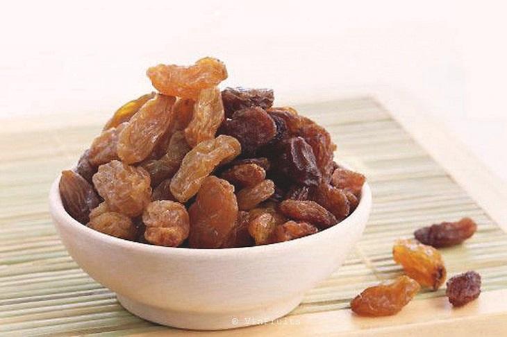 Đau dạ dày có thể ăn nho khô