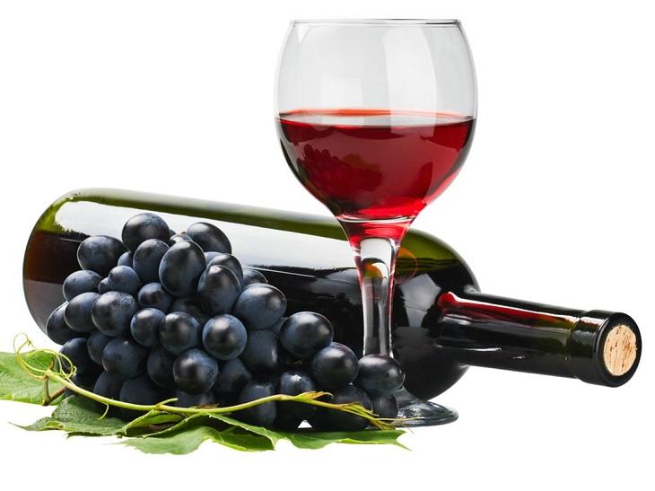 Rượu vang nho - chế phẩm có lợi cho đường ruột
