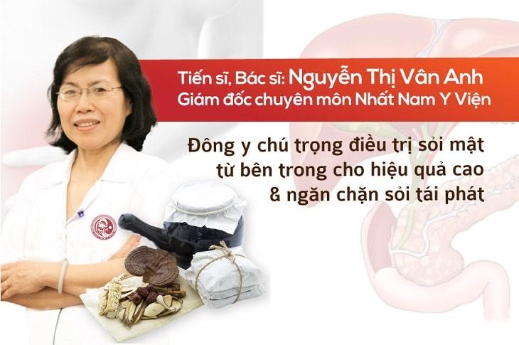 Ts.Bs Nguyễn Thị Vân Anh chia sẻ về Nhất Nam Tiêu Thạch Khang
