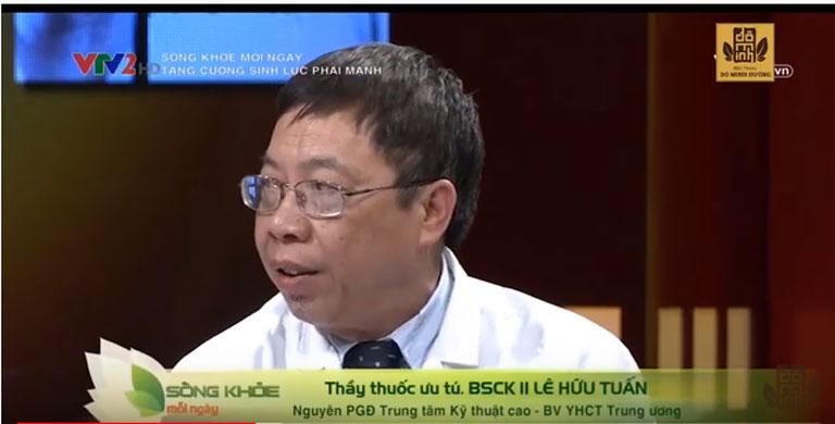 BSCK II Lê Hữu Tuấn, Nguyên Phó Giám đốc phụ trách chuyên môn bệnh viện YHCT Trung ương phân tích cơ chế bài thuốc Sinh lý nam Đỗ Minh