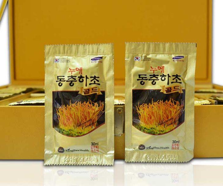 Đông trùng hạ thảo Hàn Quốc Kanghwa là sản phẩm cao cấp, có nhiều công dụng cho sức khỏe