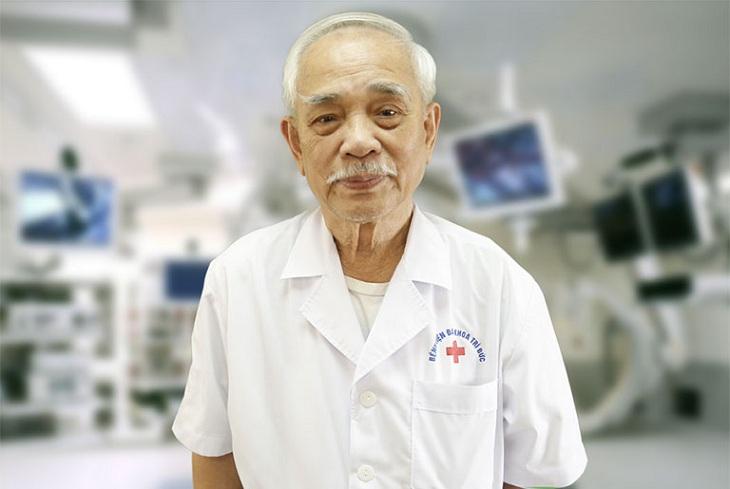 PGS. TS Trần Công Duyệt một trong những bác sĩ chữa thoát vị đĩa đệm giỏi TP Hồ Chí Minh