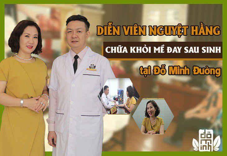 Diễn viên Nguyệt Hằng chữa khỏi nổi mề đay sau sinh nhờ bài thuốc Đỗ Minh