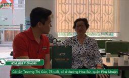 Cô Trương Thị Cúc điều trị viêm đại tràng tại trung tâm Thuốc Dân Tộc