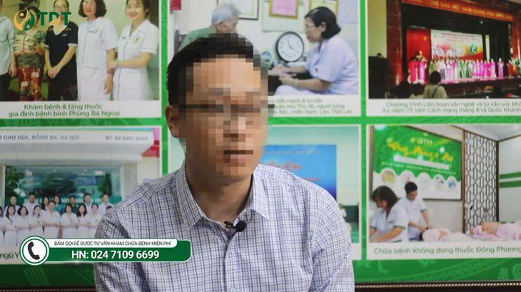 Anh Đặng Thành Trung trong buổi phỏng vấn