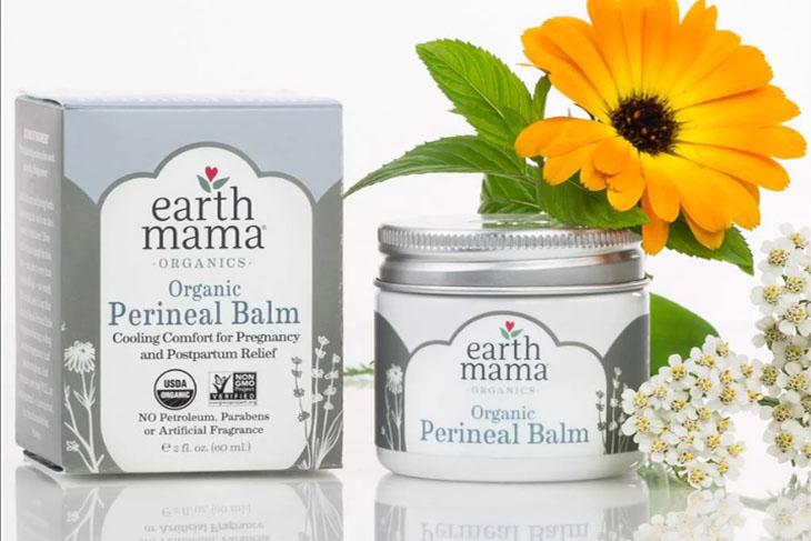 Kem bôi Earth Mama với các thành phần tự nhiên