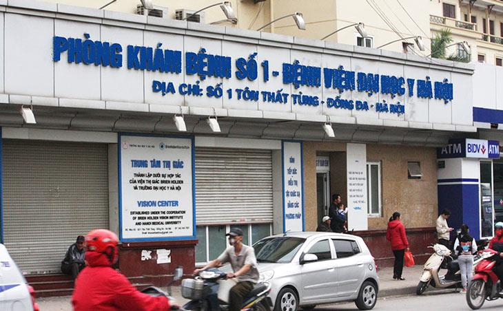 Phòng khám bệnh Bệnh viện Đại học Y Hà Nội
