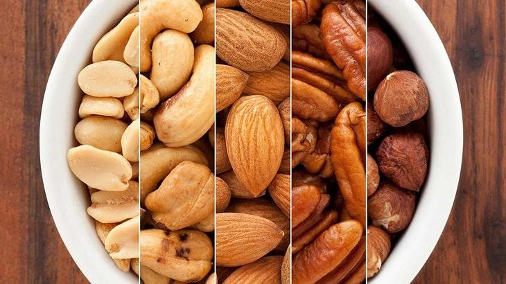 ăn cách loại hạt để tăng cường testosterone chống yếu sinh lý, xuất tinh sớm