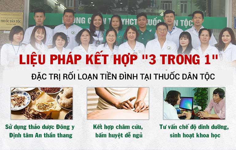 Phác đồ điều trị rối loạn tiền đình hoàn chỉnh của Trung tâm Thuốc dân tộc