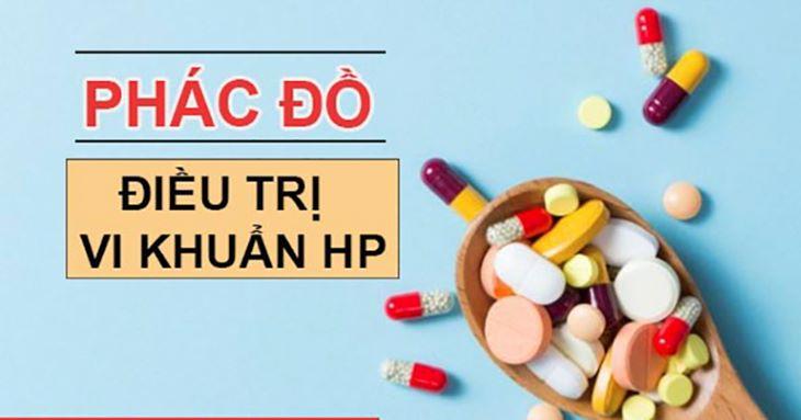 Phác đồ điều trị loét dạ dày Hp hướng dẫn cách xử trí và sử dụng thuốc để tiêu diệt vi khuẩn Hp gây viêm loét dạ dày