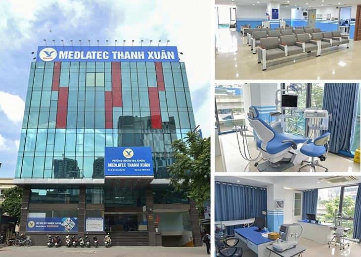 Phòng khám Meditec được trang bị trang thiết bị hiện đại, tiên tiến