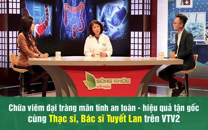 Chương trình VTV2 giới thiệu bài thuốc Tiêu thực Phục tràng hoàn chữa viêm đại tràng mãn tính