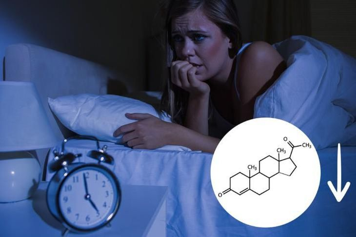 Suy giảm nội tiết tố trong cơ thể khiến phụ nữ tiền mãn kinh mất ngủ