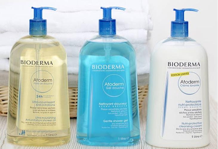 Dòng sữa tắm Bioderma Atoderm Gel Douche phù hợp với mọi làn da