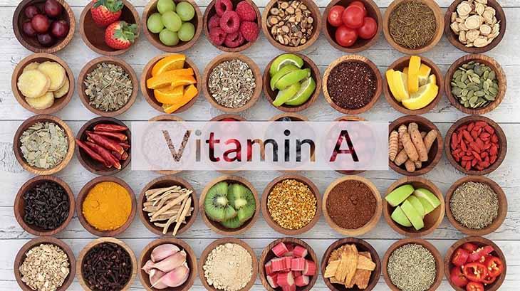 Các loại thực phẩm chứa vitamin A nên được bổ sung vào chế độ dinh dưỡng cho bé