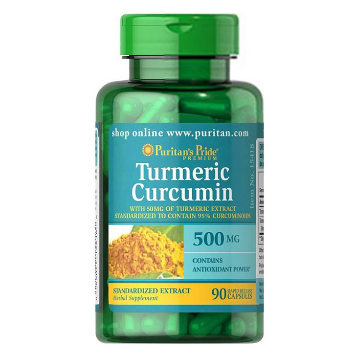 Thực phẩm chức năng trị đau dạ dày Turmeric Extract