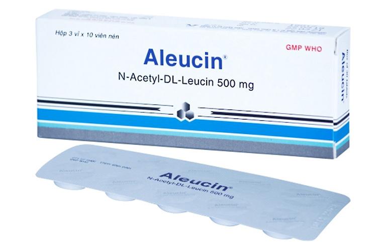 Thuốc chữa rối loạn tiền đình Acetylleucin