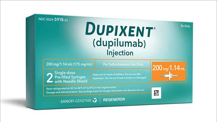 Thuốc chữa viêm da cơ địa của Trung Quốc Dupixent là sản phẩm dạng tiêm