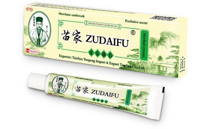 Thuốc chữa viêm da cơ địa của trung quốc Zudaifu