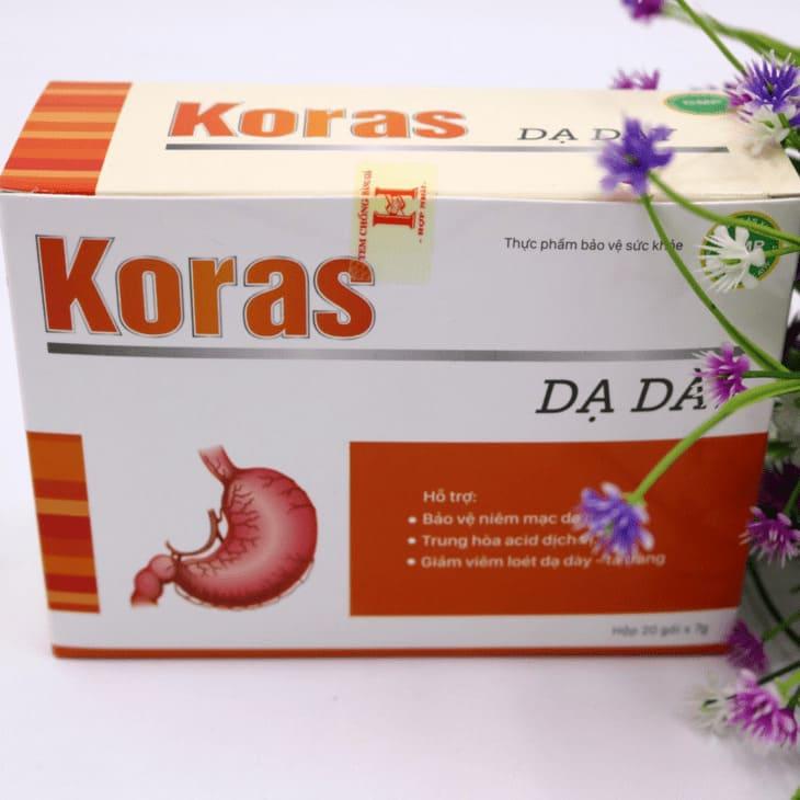 Thông tin thuốc dạ dày Koras