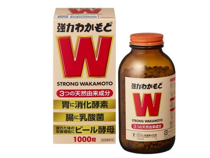Strong Wakamoto giảm đau dạ dày, hỗ trợ tiêu hóa