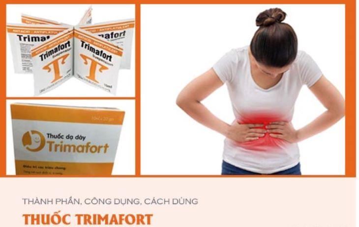 Trimafort cần được sử dụng theo đơn kê của bác sĩ